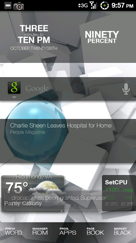 Droid Screenshot