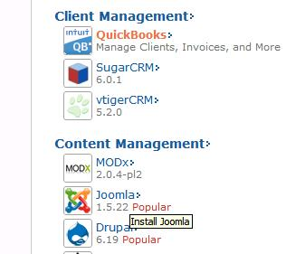 Content Management- Joomla!