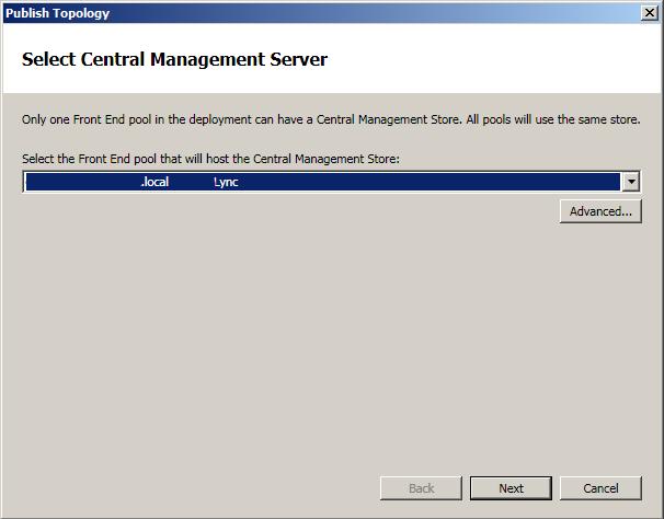 Central Management Server