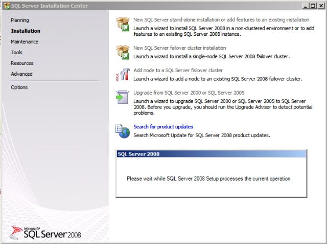 New SQL 2008 Install